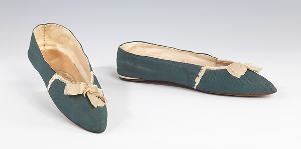 Evening slippers, Vandervell, silk, British