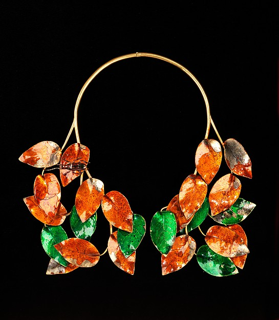 Necklace, Elsa Schiaparelli (Italian, 1890–1973), metal, French