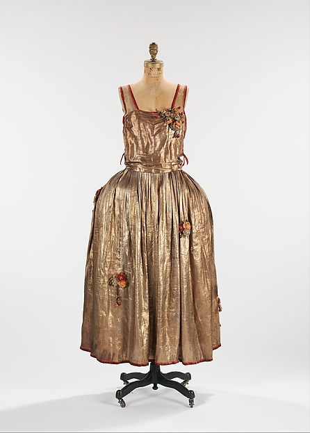 Robe de Style, House of Lanvin (French, founded 1889), metal, silk, French