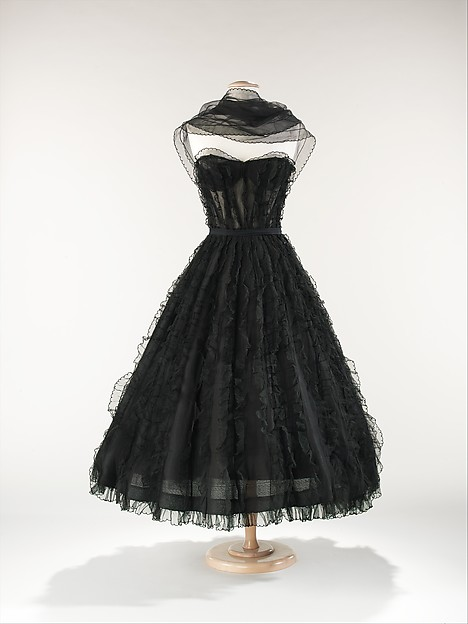 Evening Dress House Of Chanel French Founded 1913 Silk