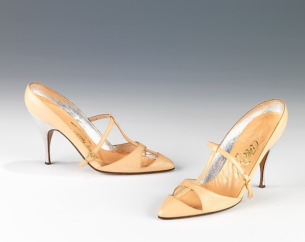 Evening shoes, Albanese (Italian), leather, Italian