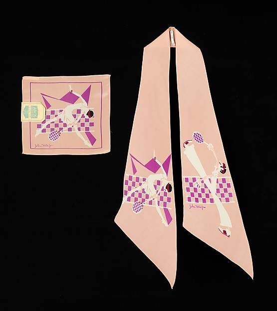 Accessory set, John Held Jr. (American, Salt Lake City, Utah 1889–1958 Belmar, New Jersey), silk, American