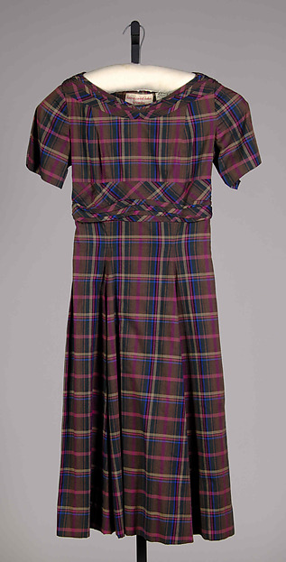 Dress, Claire McCardell (American, 1905–1958), Cotton, American