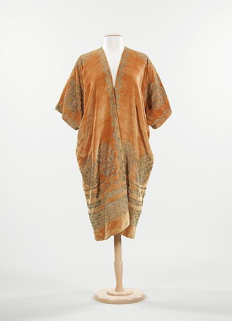 Evening coat, Fortuny (Italian, founded 1906), silk, Italian
