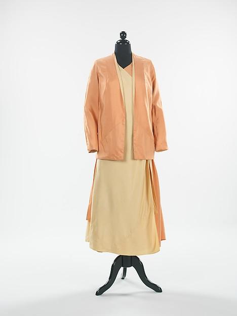 Beachwear, Elsa Schiaparelli (Italian, 1890–1973), silk, French