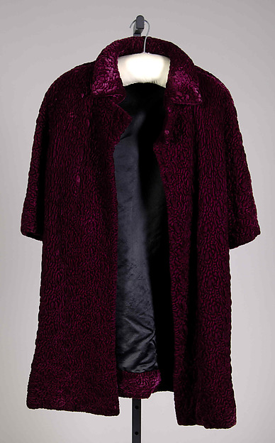 Evening coat, House of Balenciaga (French, founded 1937), Silk, French