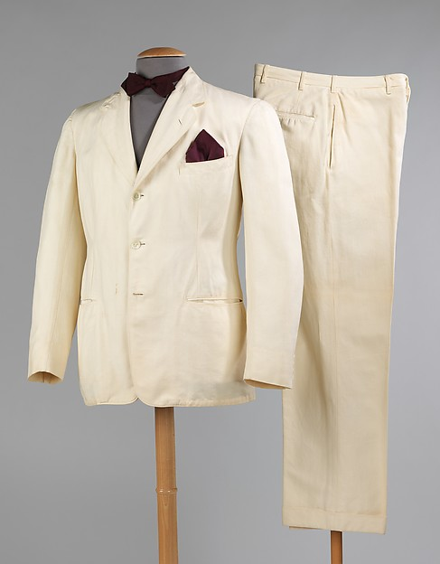 Suit, Goodall Worsted Company (American, 1824–1944), wool, cotton, synthetic, American