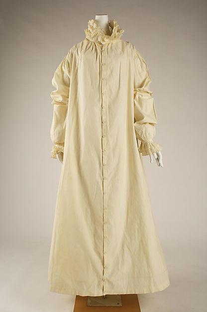 Morning dress, linen, American or European