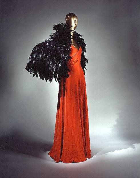 Evening dress, Madeleine Vionnet (French, Chilleurs-aux-Bois 1876–1975 Paris), silk, French