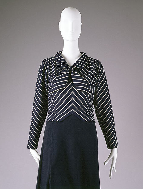 Overblouse, House of Chanel (French, founded 1913), wool, French