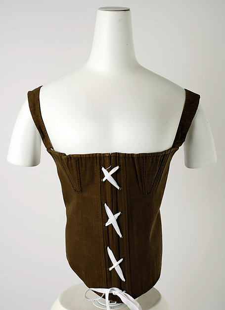 Corset, [no medium available], American or European