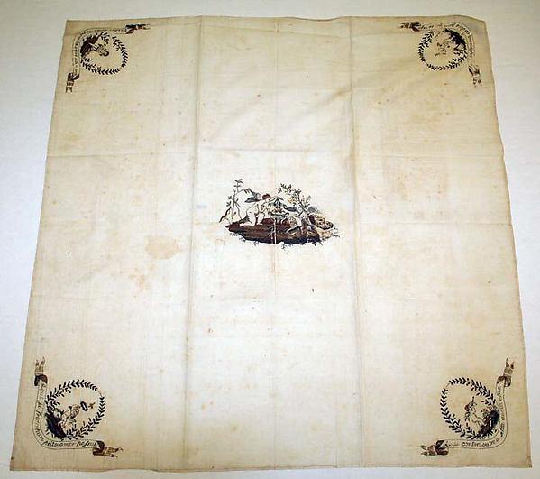 Handkerchief, cotton, Portuguese