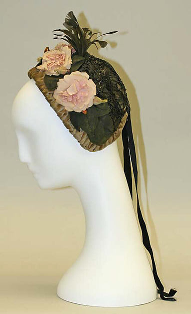 Bonnet, [no medium available], American or European