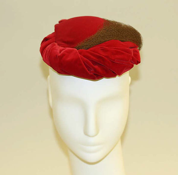 Hat, Mrs. Esther A. Klepper, [no medium available], American