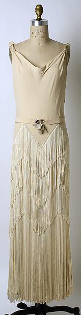 Evening dress, Mainbocher (American, 1890–1976), silk, French