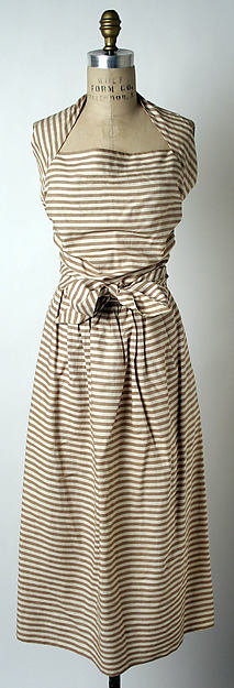 Sundress, Claire McCardell (American, 1905–1958), cotton, American