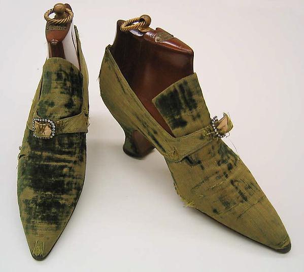 Pumps, Pierre Yantorny (Italian, 1874–1936), leather, silk, French