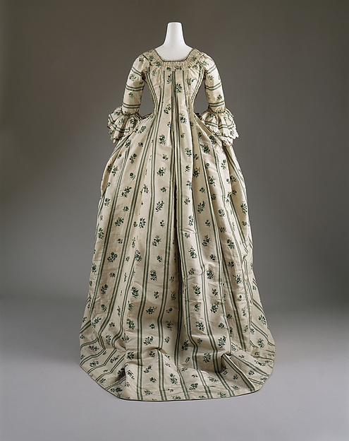 Robe à la Française, silk, French