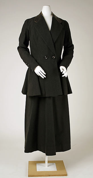 Suit, wool, American