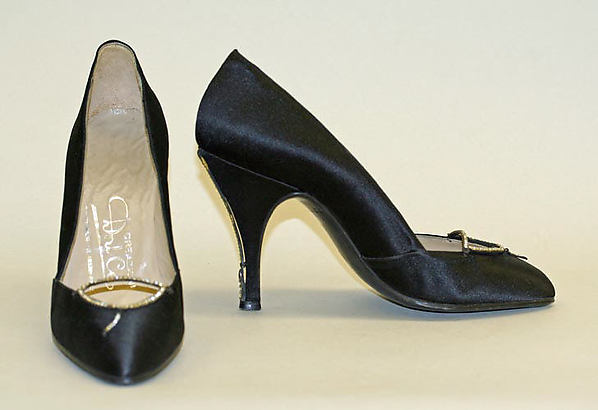 Evening pumps, Dal Co' (Italian), leather, Italian