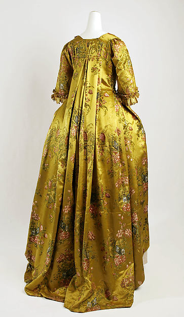 Robe à la Française, silk, French