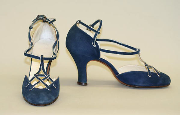 Shoes, Franklin Simon & Co. (American, founded 1902), leather, American