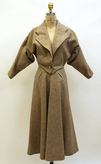 Suit, Madame Grès (Alix Barton) (French, Paris 1903–1993 Var region), wool, French