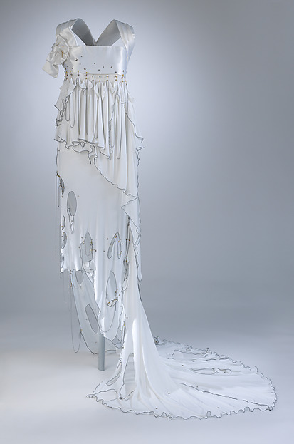 Zandra Rhodes | Punk Wedding Dress | British | The Met