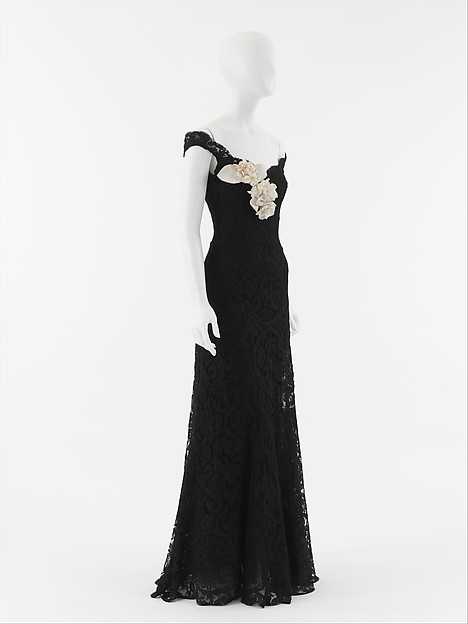 Evening Dress House Of Chanel French Founded 1913 Silk Rayon