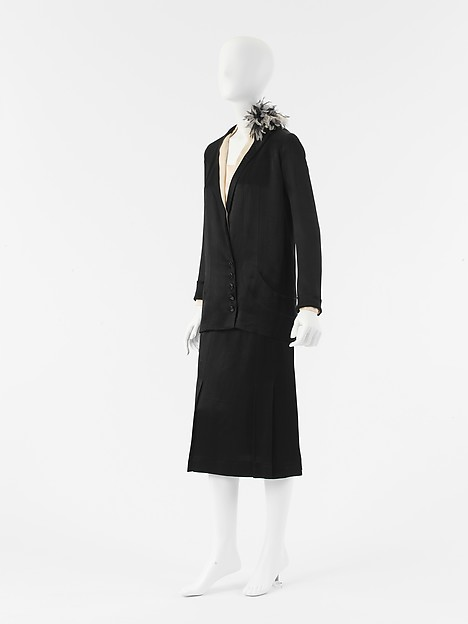 Ensemble, House of Chanel (French, founded 1913), silk, French