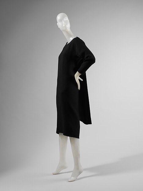 Dress, House of Balenciaga (French, founded 1937), wool, silk, French