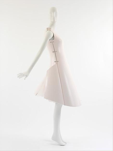 """Remote Control"", Hussein Chalayan (British, born Cyprus, 1970), a,c) fiberglass, metal; b) cotton, synthetic, British"