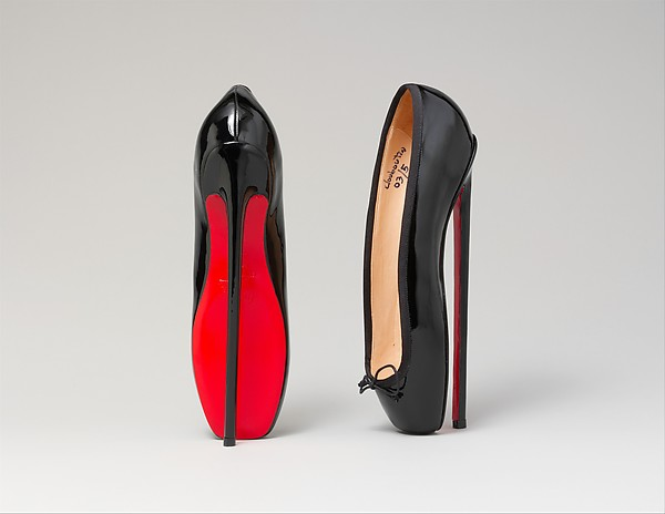 Pumps, Christian Louboutin (French, born 1963), leather, French