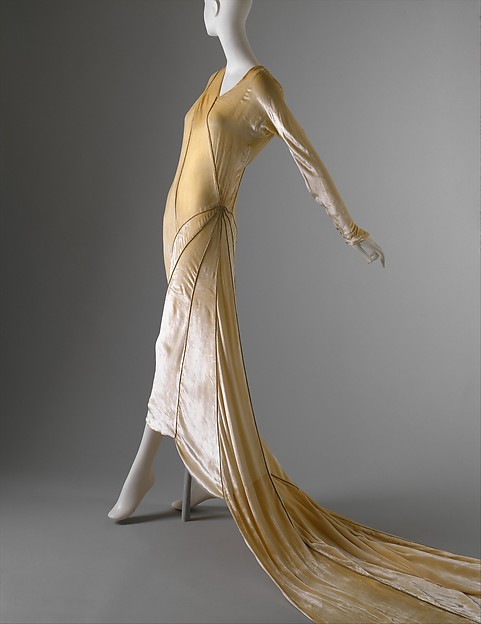 Madeleine Vionnet | Wedding ensemble | French | The Met