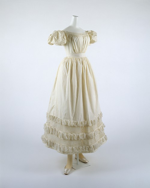 Dress, cotton, French