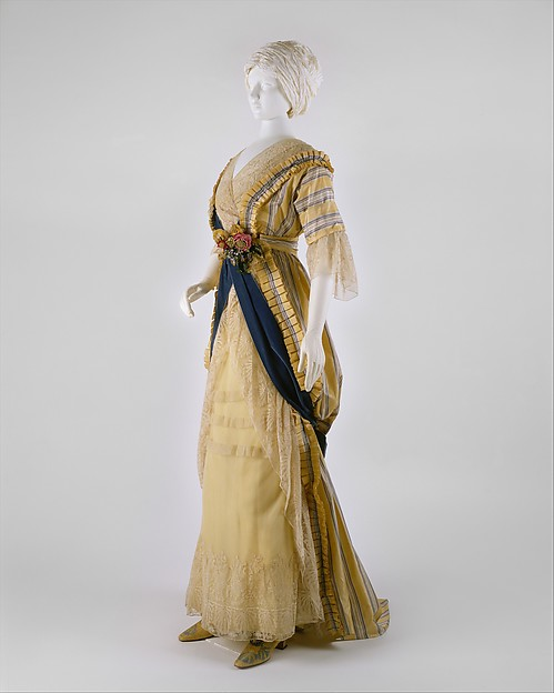 Dress, House of Drécoll, silk, French