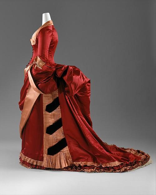 Dinner dress, Mme. Grapanche, silk, American