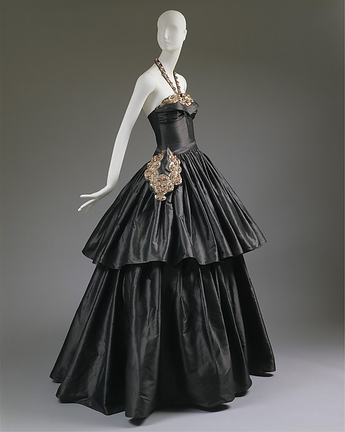 """Cyclone"", House of Lanvin (French, founded 1889), silk, spangles, French"