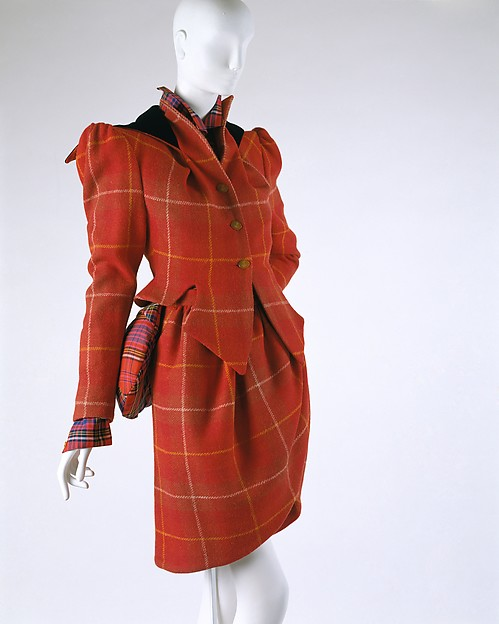 """On Liberty"", Vivienne Westwood (British, born 1941), wool, cotton, leather, British"