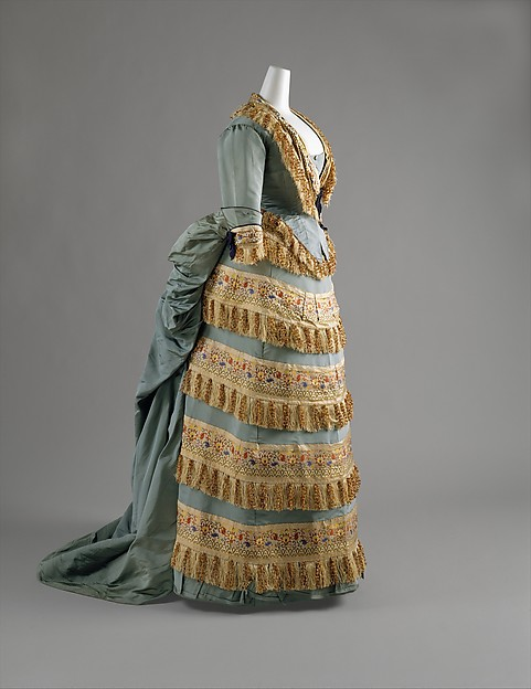 Ball gown, House of Worth (French, 1858–1956), silk, French