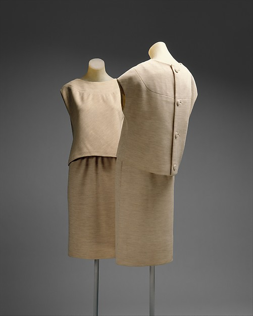 Ensemble, House of Givenchy (French, founded 1952), wool, French