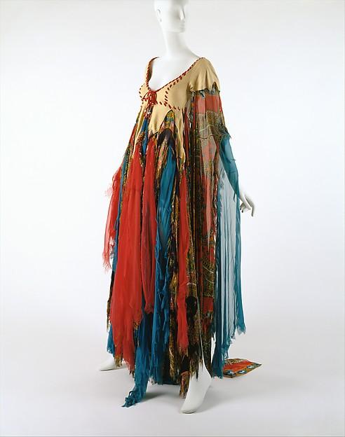 Dress, Giorgio di Sant'Angelo (American, born Italy, 1933–1989), synthetic, suede, cotton, American