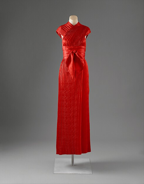 Evening dress, Claire McCardell (American, 1905–1958), silk, American