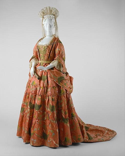 Mantua, silk, metal, British