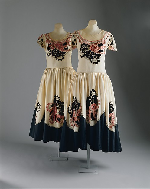Robe de Style, House of Lanvin (French, founded 1889), silk, cotton, French