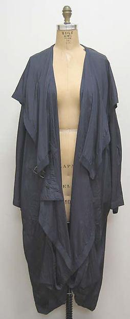 """Pocketable Raincoat"", Miyake Design Studio (Japanese), synthetic, cotton, resin, metal, Japanese"