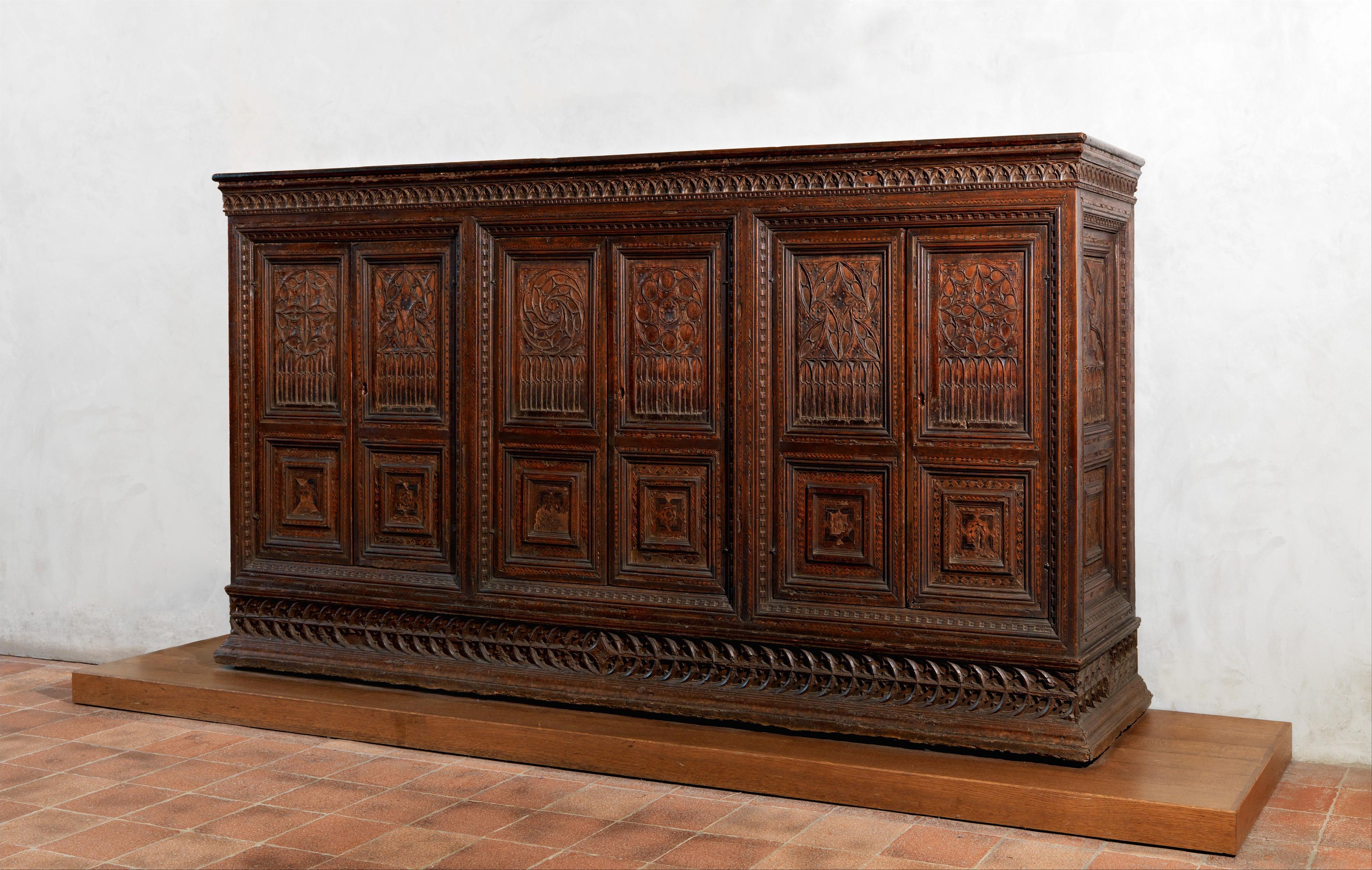 La Credenza Italy : La permanente mobili cantu sideboard credenza mahogany italy
