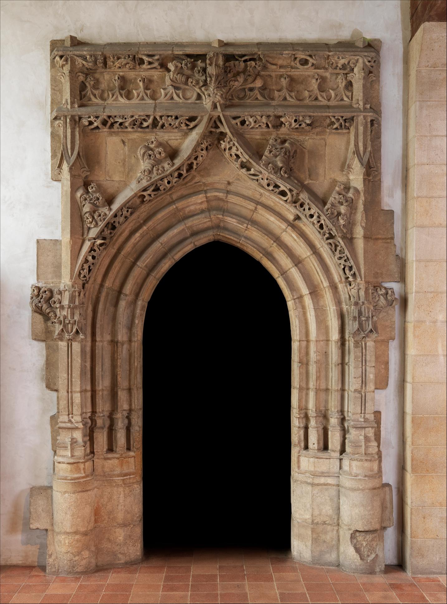 Gothic Doorway French The Met