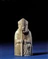 Bishop, Walrus ivory, Scandinavian