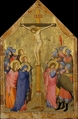 The Crucifixion, Master of the Codex of Saint George (Italian, active Florence, ca. 1315–35), Tempera on wood, gold ground, Italian